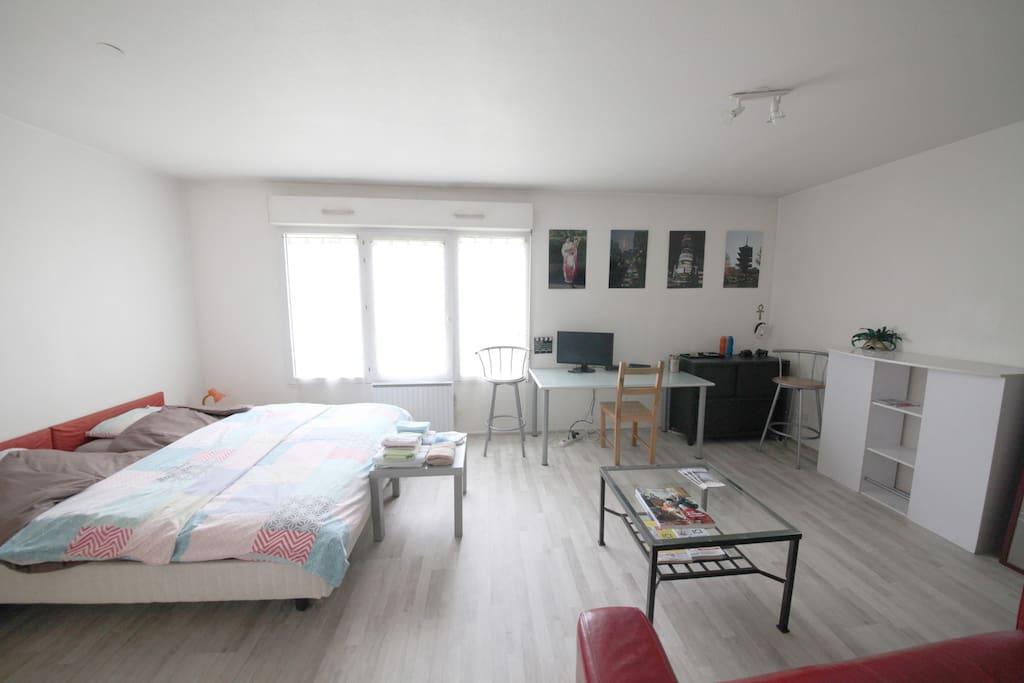 Joli f1 meubl nancy centre ville appartements louer for Appartement meuble nancy