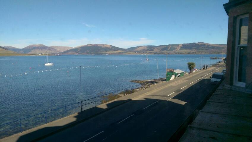 Stunning Views of the Bay and Loch - Port Bannatyne - Apartament