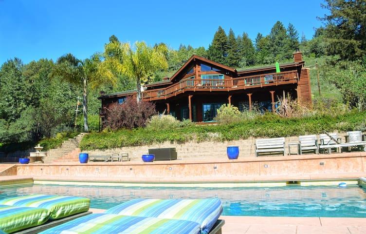 Mountain Retreat w/Pool & Views
