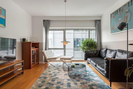 「Exquisite Lifestyle」国贸CBD中心95平米一居室高档公寓/全屋除螨
