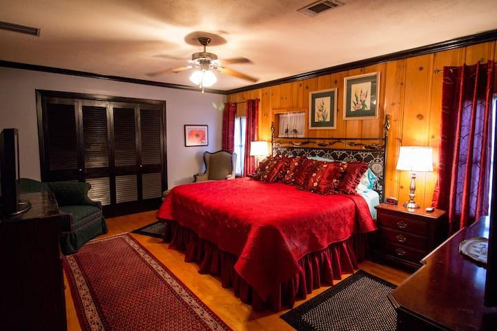 Clark Gable Apartment, Bogart's B&B - Navasota - Penzion (B&B)