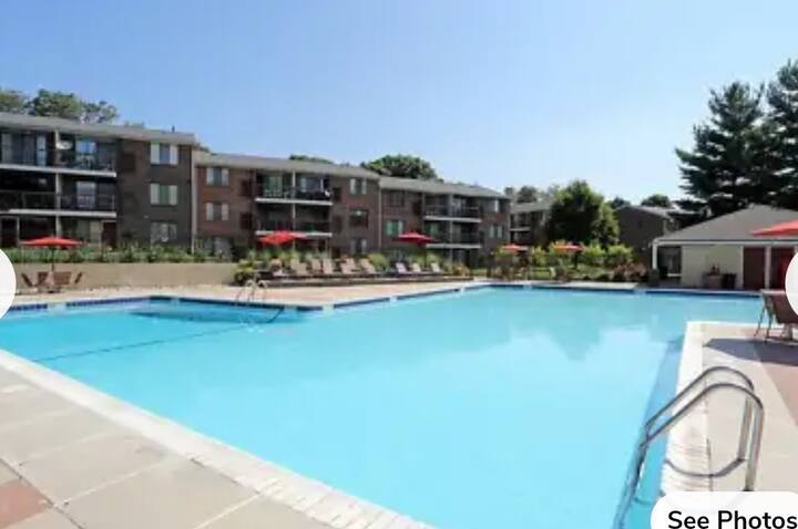 Very beautiful and private 2 bedroom apartment