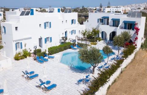 Dedalos Studios Naxos 5min walk from the beach