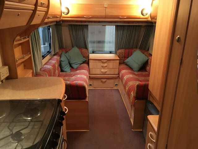 Nice Comfortable Caravan in a Very Quiet Location