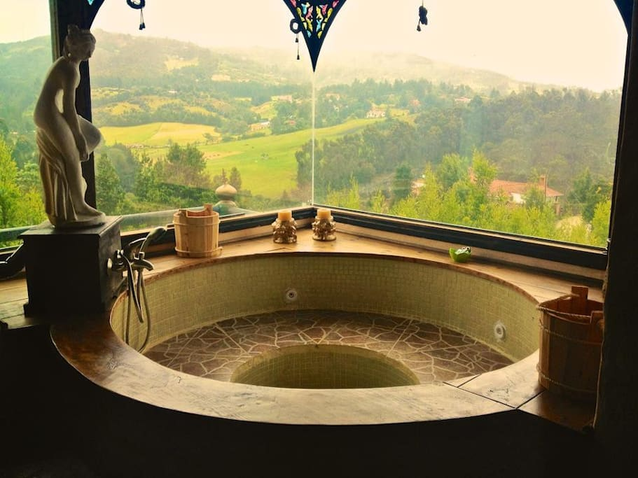 Stress? Well... we have jacuzzis