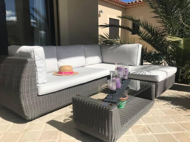 Provence l'été indien - Maison piscine chauffée