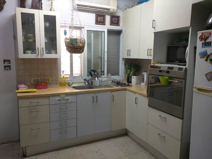 A quiet place in 45M2 near the Expo TLV Eurovision