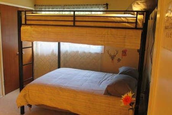 Safari Travel Room - Shared Coed (Top bed)