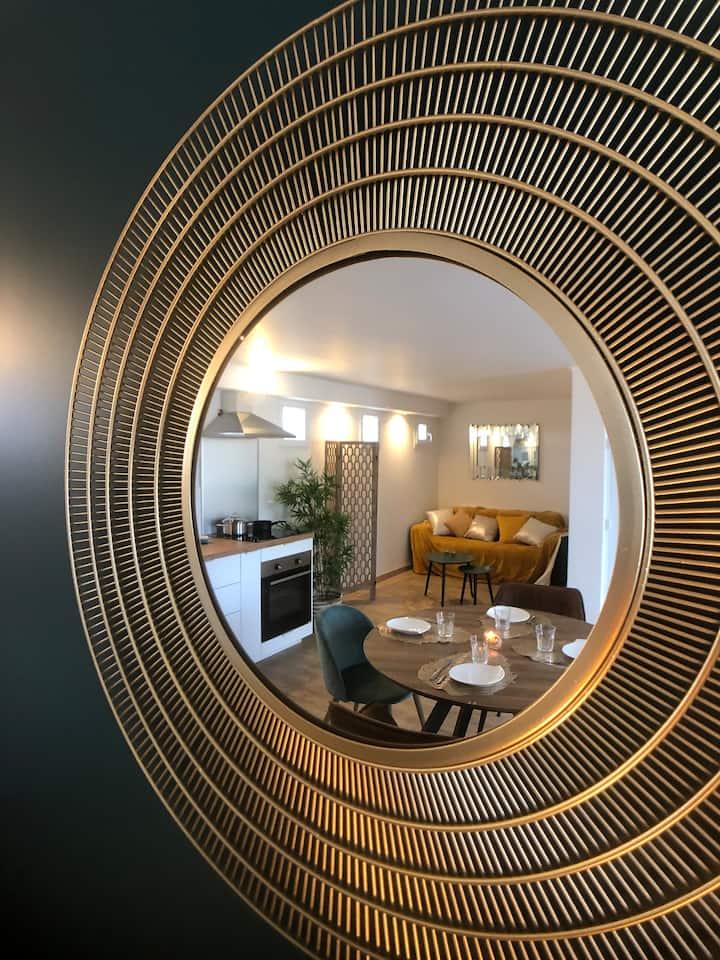 Appartement ( 4 P ) ROMA refait à neuf + extérieur