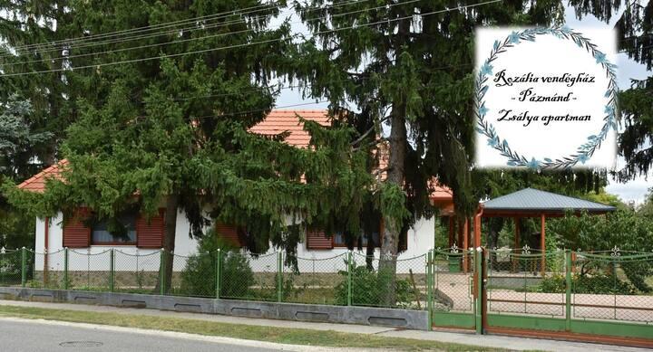 Rozália vendégház-Zsálya apartman-Vidéki nyugalom