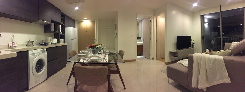 Brand New 2 Bedroom - 5 star Luxury Condo. - Bangkok - Condominium