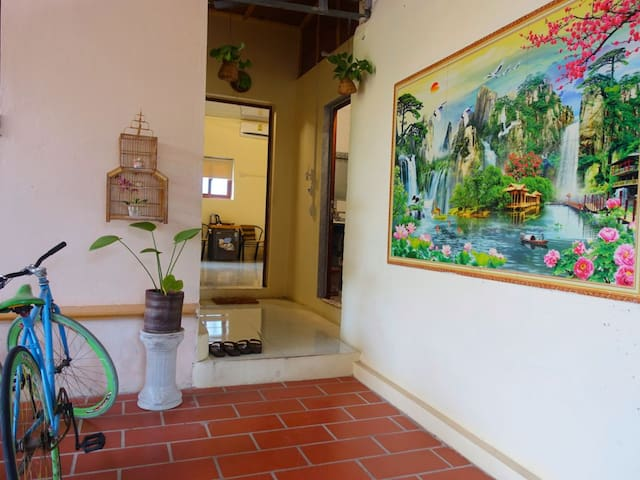 (p7)Trang An Village -Large double room.