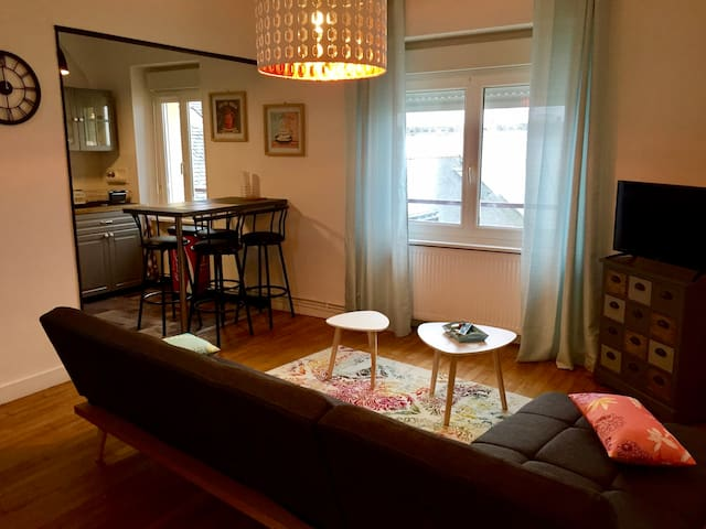 Appartement cosy hyper centre, au calme.