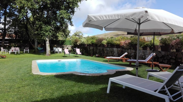 Villa with 2 bedrooms in Paredes de Coura, with private pool and WiFi