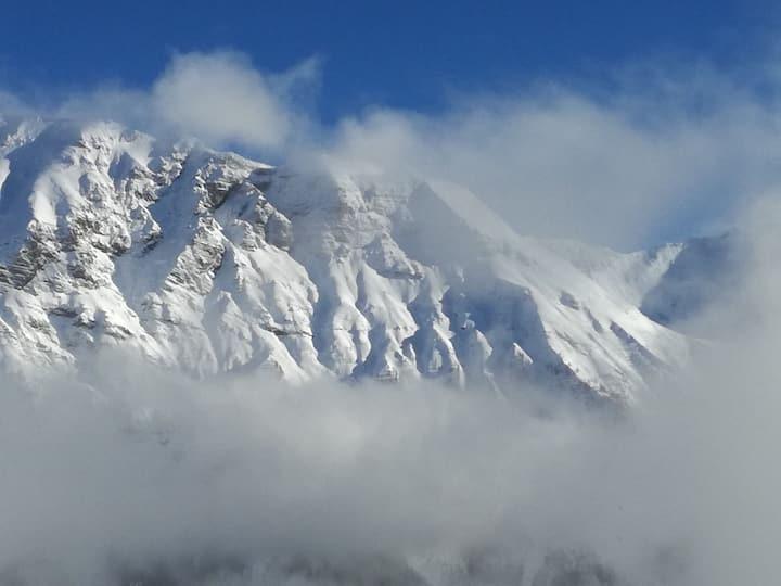 Plein sud, belle vue montagne, grande terrasse