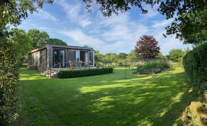Contemporary Rural Lodge in South Somerset