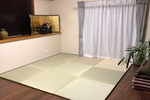 Second floor  Japanese-style room.   tatami.