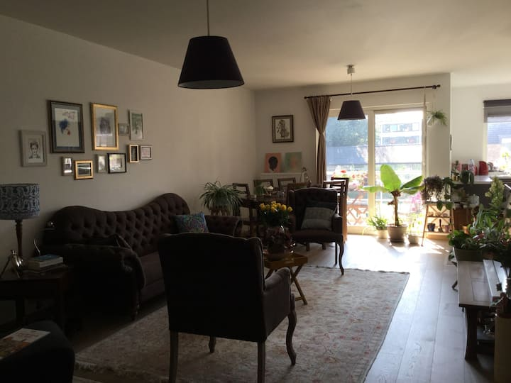 Cosy & Green apartment / might have free parking