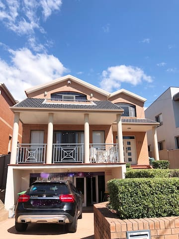 Two storey family house located in Hurstville CBD