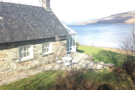 Beachfront Cottage with stunning views. - Argyll and Bute - Andere
