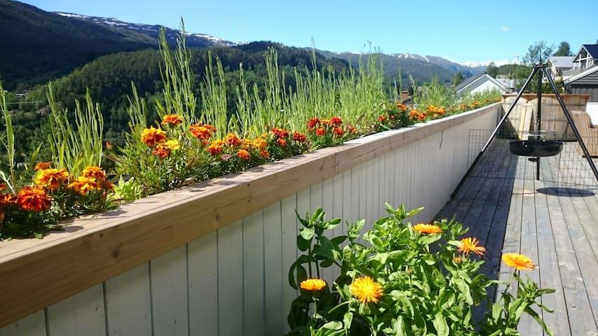 Trolldalen modern mountain village flat