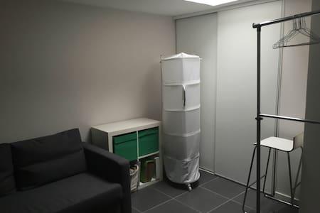Mezzanine lumineuse avec salle de bain privé - Huoneisto