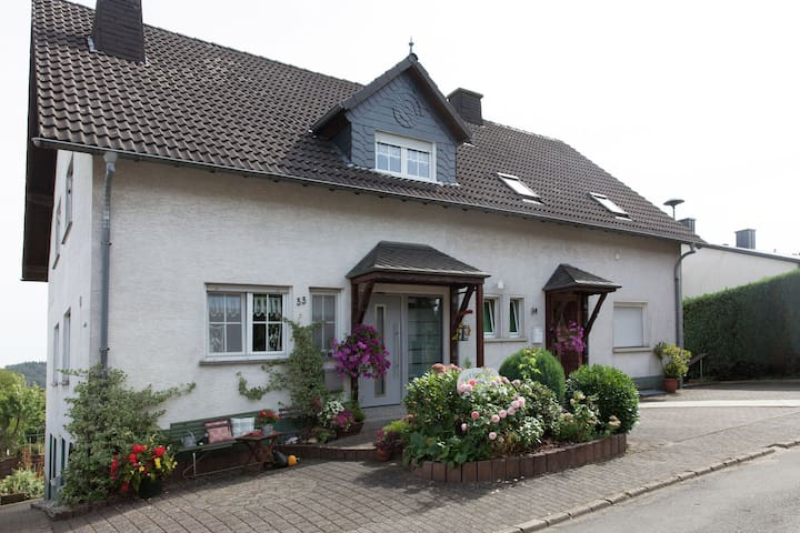 An attractive holiday home in the Eifel Volcano area.