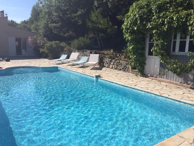 Traditional provencal house with pool