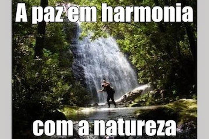 Peace in harmony with nature. - Águas da Prata - Rumah