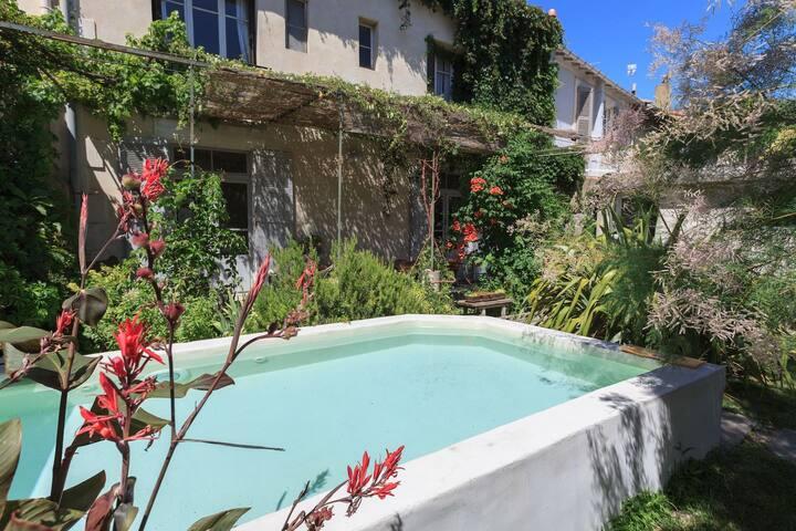 Artist's house in Avignon