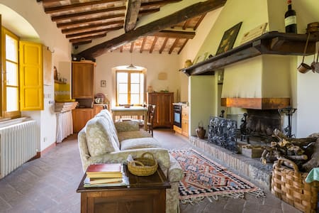 Little farmer: peaceful positition - San Casciano dei Bagni - House