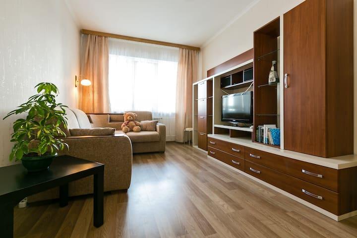 Светлая уютная квартира в спальном районе Москвы - Moskva - Pis