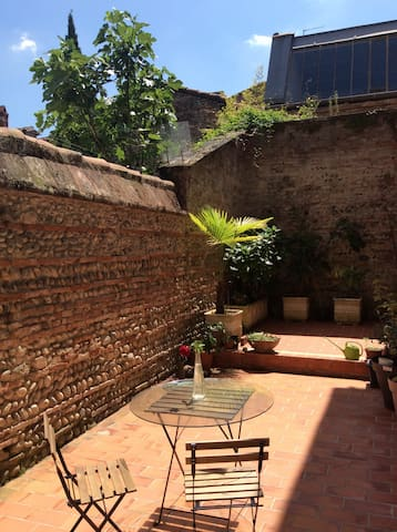 T2 hypercenter Toulouse, calm with terrace - Toulouse - Appartement