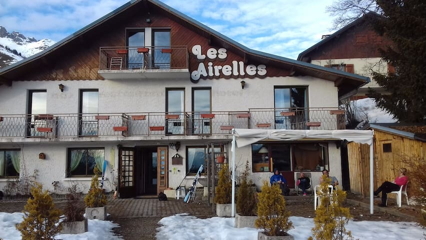 Bed and breakfast a 50 m des pistes pour famille