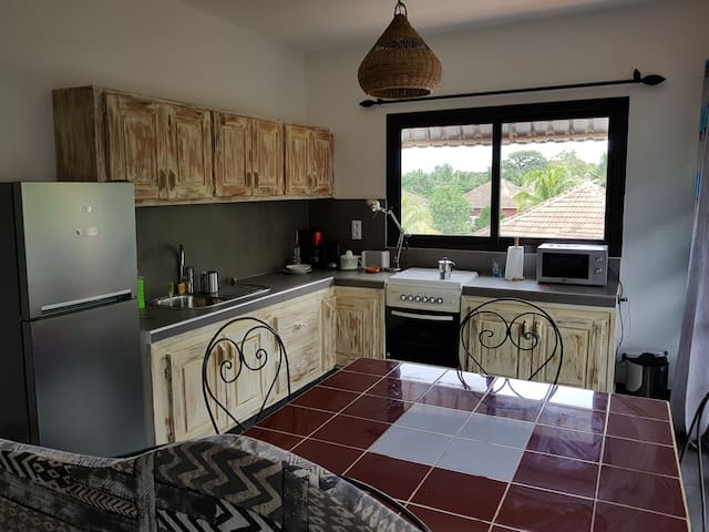 New apartment in a residence in Saly
