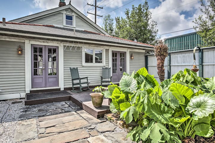 Bywater Home w/ Porch   Walk to French Quarter!