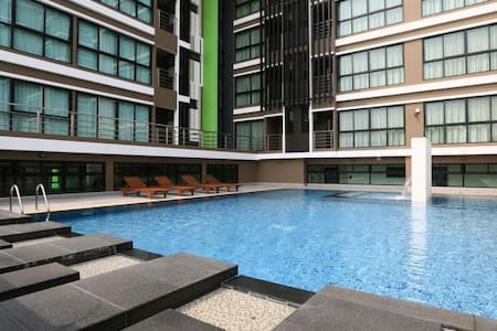 TOP Studio 8th Floor with Pool and Gym - Leilighet