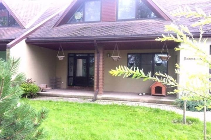 3 cosy rooms in countryside 20min from Riga centre - Jaunsils - บ้าน