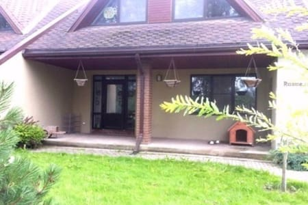 3 cosy rooms in countryside 20min from Riga centre - Jaunsils - Huis