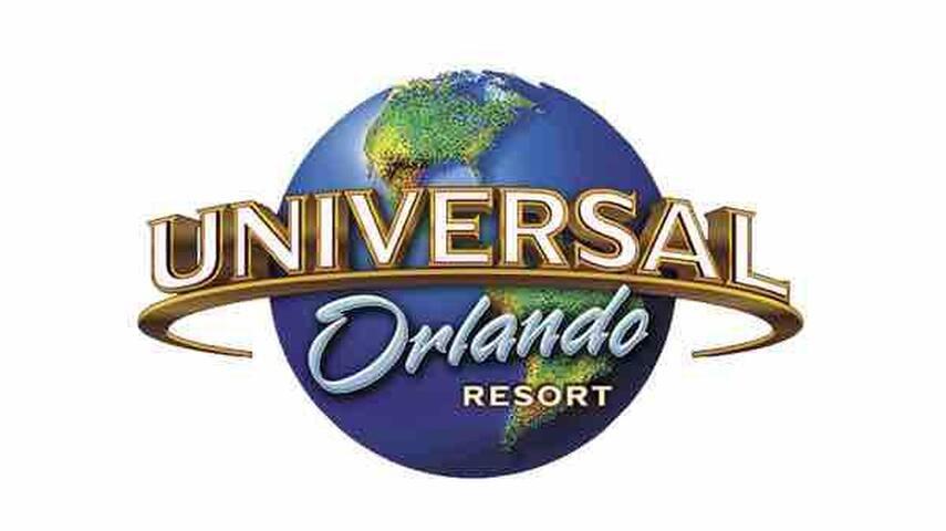 1 hour to Orlando Universal Studio.