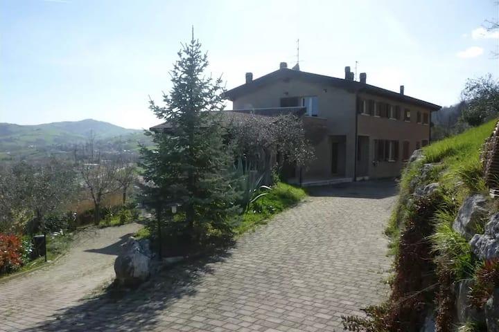 Modern Villa in Montescudo with Terrace