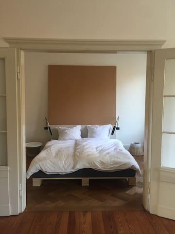 Schöne Altbauwohnung 1 - Karlsruhe - Apartment