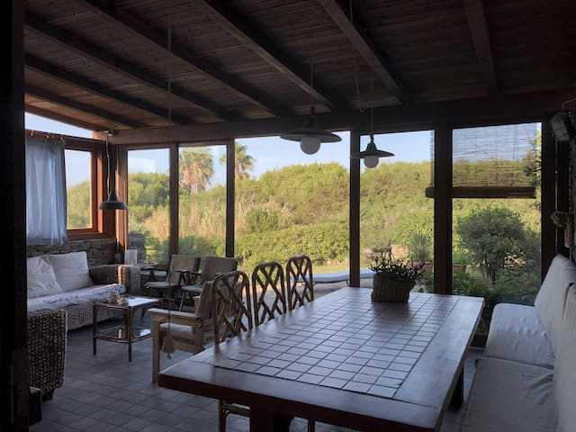 Villa 'till 8people' with garden,300m to the beach
