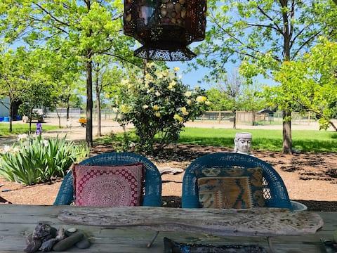 Restorative Ranch Retreat + Breakfast & Wine