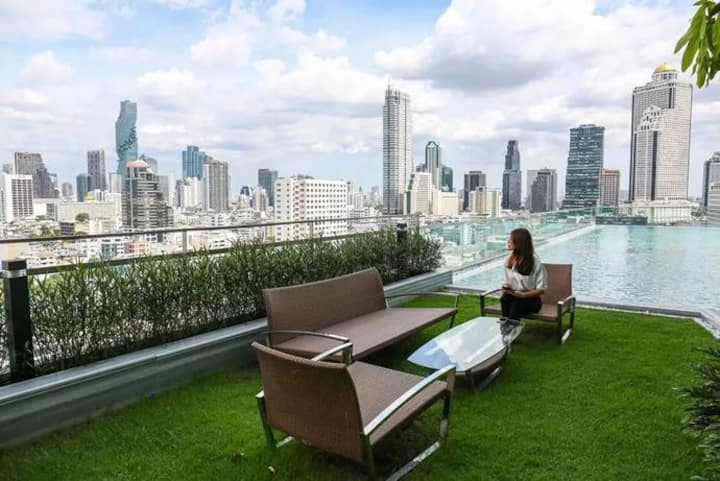 *Large Unit Bangkok Remarkable Choice River View
