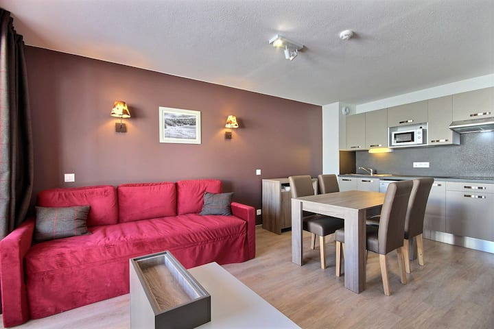 Beautiful 2 rooms apartement in a residence with swimming pool