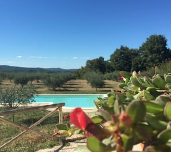 Todi: Restored Villa in wild nature - Todi