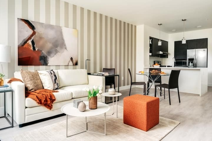 Modern One Bedroom Apartment in Silicon Valley (Sunnyvale)
