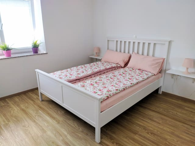 Master bedroom or kids bedroom (for up to 4 kids) - two queen size beds inside