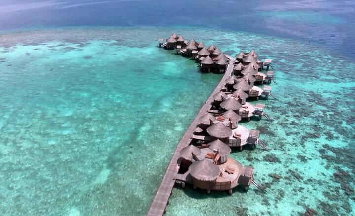 NIKA ISLAND MALDIVES WATER VILLA